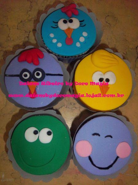 Cupcakes Carinhas Da Galinha Pintadinha Loja De